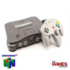 Nintendo 64 - N64 Console - Complete Setup - US (USA) / JAPANESE NTSC Version