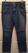 Levi's 505 Women's Straight Fit Medium Wash Jeans Size 8M, Inseam 30, Great Cond