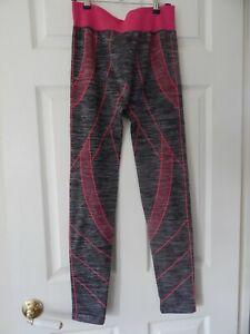 "Leggings grey/pink 26"" waist"