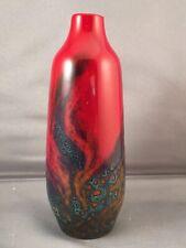 Antique Royal Doulton Flambe Veined Vase No 1614 / Spectacular Glaze / Circa1940