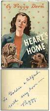 GADDIS, Peggy DERN / Heart's Home Signed 1st Edition 1946