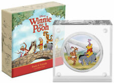 2021 Niue Disney Characters Winnie the Pooh & Friends 1 oz Silver $2 Coin