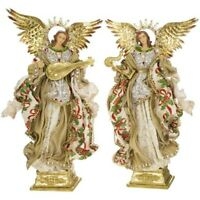 Mark Roberts 2020 Collection Standing Angel with Base, Assortment of 2 Figurines