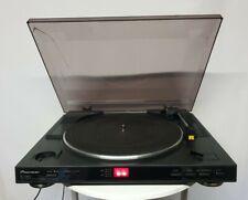 Pioneer PL-990 Automatic Stereo Turntable *** Cracked Lid & needs new belt ***