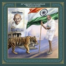 Guinea-Bissau - 2018 Mahatma Gandhi - Stamp Souvenir Sheet - GB18106b