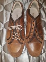 Florsheim Mens Brown Fashion Sneaker Size 12 (11359) suede leather