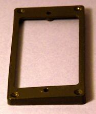 Guitar Humbucker Replacement Mounting Ring Neck Position - Used- Black, odd size