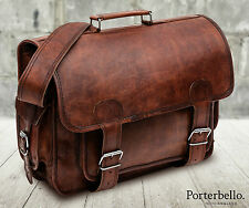 Large Brown Handmade Genuine Leather Camera Photography Bag (RRP £102.99)