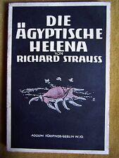 """La Helena egipcia"" de Hugo von Hofmannsthal (1928)"