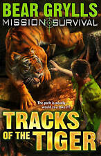"""""""AS NEW"""" Mission Survival 4: Tracks of the Tiger, Grylls, Bear, Book"""