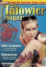 Tätowier Magazin 1/2000 Januar,Smilin Demons,Steinbock,Goldfields,Tokio,Prag,