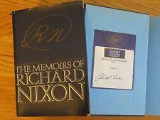 President RICHARD NIXON signed THE MEMOIRS OF NIXON 1978 1st Edition Book COA