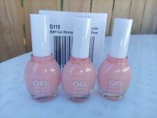 3 Broadway Nails Gel Strong Nail Polish #G118 Pink Drop New