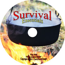 127 Survival Manuals & Books on Dvd Water Purification Food Doomsday Prep How to