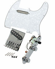 Fender Tele Telecaster MIM Loaded Pickguard- Bridge-Pickups-Control Plate, WP