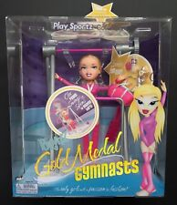 Bratz Play Sportz Gold Medal Gymnasts Cloe New