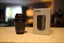 Canon ef-s 55-250mm f/4-5.6 IS STM [EXCELLENT] Free Shipping!!!