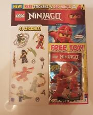 Lego Ninjago Magazine - Issue 1 - First Issue with Kai Minifigure - New/Sealed
