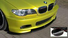 BMW E46 M Paket 2 M Technik 2 Spoiler Schwert Lippe ABS Schwarzglanz incl ABE