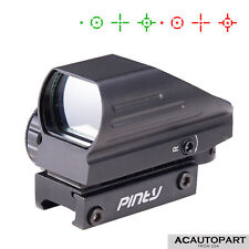New listing Tactical Holographic Red / Green Reflex Scope sight combo 4 Reticles