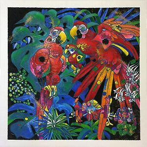 "JIANG TIE-FENG ""BIRDS OF PARADISE"" 1997 