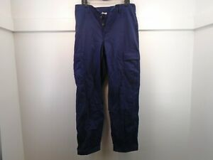 USGI US Coast Guard Blue Combat Uniform Pants Trousers Twill Medium Long 60-M
