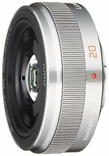 Panasonic LUMIX G Pancake Lens 20mm / F1.7 II ASPH Silver for Micro Four Thirds