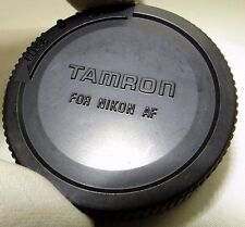 "Tamron Rear Lens Cap ""For Nikon""  28-75mm 18-50mm 12-24mm lenses Ai Ai-s AF-S"