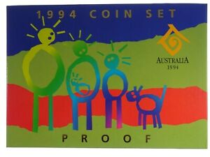 1994 Royal Australian Mint Year of the Family Proof Coin Set