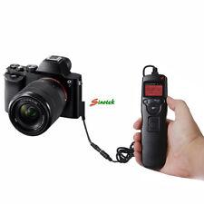 LCD Intervalometer Timer Remote S2 for Sony A58 NEX-3NL A7 A7R A3000 A6000 HX300