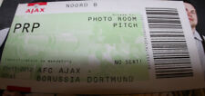 Old ticket CL Ajax Amsterdam BVB Borussia Dortmund 2012 Holland Germany