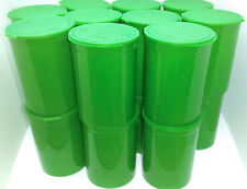 20 x Green 30 Dram Pop Top Squeeze Bottle Vial Medical Pill Box Herb Containers