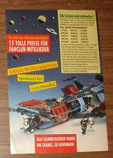 Seltene Werbung LEGOLAND Lego Space 6986 Galax-Police-Cruiser Gewinnspiel 1991