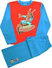Kids Spiderman Boys PJs Pyjamas Sleepwear Ages 2 3 4 5 6 7 8 Years Sp60 4-5 Years
