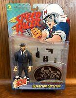 Inspector Detector Vintage Speed Racer Action Figure New NIB 1999 Resaurus 90s