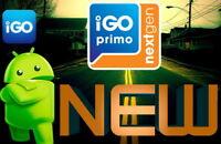 IGO Primo NEXtGEN Android Software Navegación Coche+Camión+Camper Tarjetas 2018