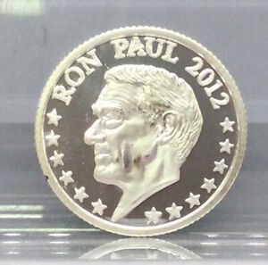 Ron Paul 2012 One Tenth (1/10) .999 Silver Round