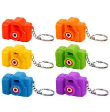 6 Camera Viewer Keyrings - Pinata Toy Loot/Party Bag Fillers Key Chain Kids