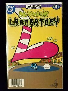 DEXTER'S LABORATORY Comic #8 (Apr 2000, DC) 9.0 VF/NM (Cartoon Network)