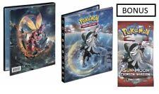 Pokemon Crimson Invasion 4 Pocket Portfolio Album Binder Sm4 Bonus Pack