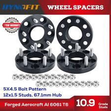 4 Pcs for Jeep Patriot Wheel Spacers 5X114.3 5X4.5 67.1 CB 12x1.5 20MM Mazda