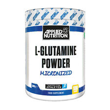 Applied Nutrition L-Glutamine BCAA EAA Amino Acid Powder Drink Muscle Build 500g