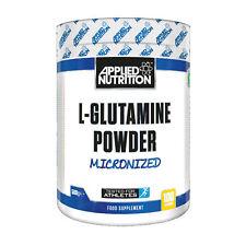 Applied Nutrition L-Glutamine BCAA EAA Amino Acid Powder Drink Muscle Build 500g