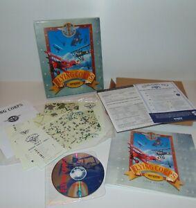 Flying Corps   WWI Flight Sim   PC Windows MS Dos   CD-Rom   Big Box