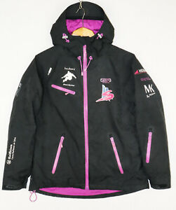 2117 OF SWEDEN TRI TECH Hooded Women's Snowboard Ski Jacket Size M, GB 12, EU 38