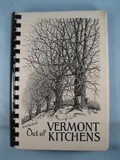 Out Of Vermont Kitchens Vintage Cookbook Book St Pauls Cathedral Burlington (O3)