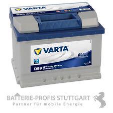 Varta Autobatterie 12V 60Ah 540A D59 ersetzt 53Ah 55Ah 62Ah