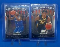 Zion Williamson and Ja Morant RC - 2019 Panini Prizm Draft All-Americans
