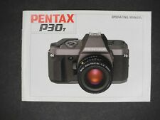 Pentax P30T 1990 Camera Operating Manual / Instruction Book / Guide