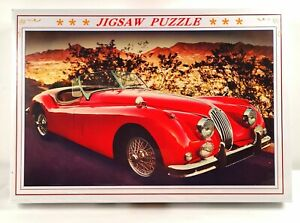 Vintage Car Red - 1000 Piece Jigsaw Puzzle Adults Kids Gift Educational Toy DIY
